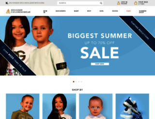 designerchildrenswear.com screenshot