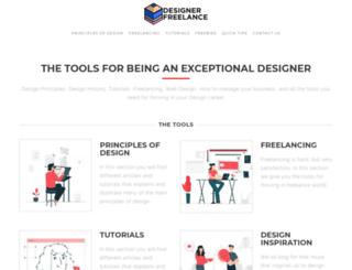 designerfreelance.net screenshot