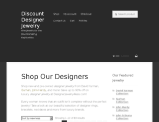 designerjewelry4less.com screenshot