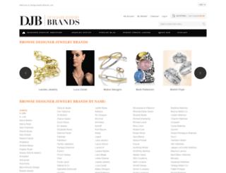 designerjewelrybrands.com screenshot