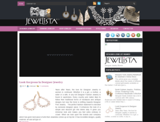 designerjewelryinfashion.blogspot.in screenshot