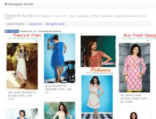 designerkurtis.com screenshot