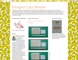 designerlacemoulds.blogspot.com screenshot