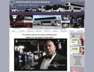 designerlimo.com screenshot