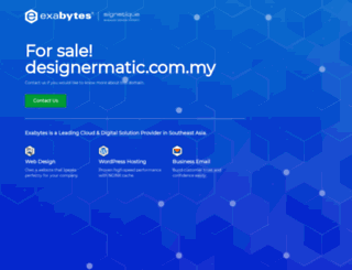 designermatic.com.my screenshot