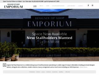 designeropshop.com.au screenshot