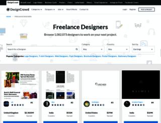 designers.designcrowd.co.in screenshot