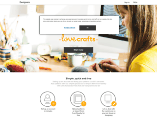 designers.loveknitting.com screenshot