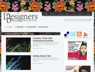 designersbrush.com screenshot