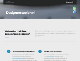 designerstoelen.nl screenshot