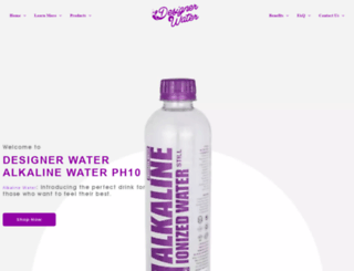 designerwater.co.za screenshot