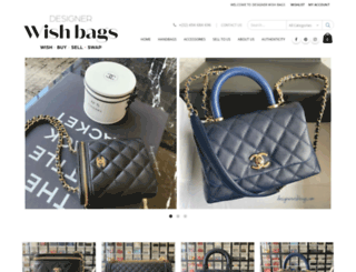 designerwishbags.com screenshot