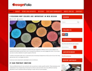 designfolio.co.nz screenshot