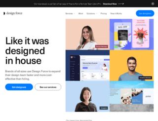 designforce.us screenshot