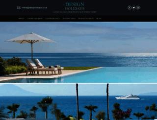 designholidays.co.uk screenshot