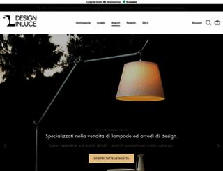 designinluce.com screenshot