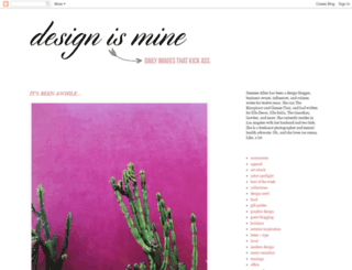 designismine.blogspot.com screenshot