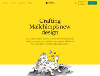 designlab.mailchimp.com screenshot