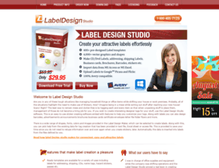 designlabelstudio.com screenshot