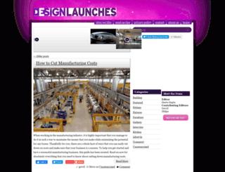 designlaunches.com screenshot