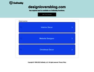 designloversblog.com screenshot