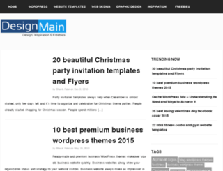 designmain.com screenshot