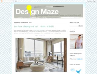 designmaze-tim.blogspot.co.uk screenshot