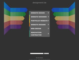 designnerd.de screenshot