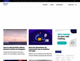 designpieces.com screenshot