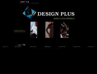 designplus.com.pk screenshot