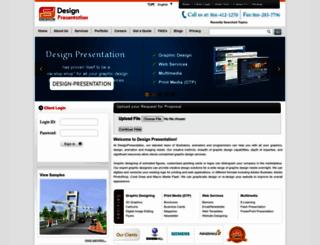 designpresentation.net screenshot