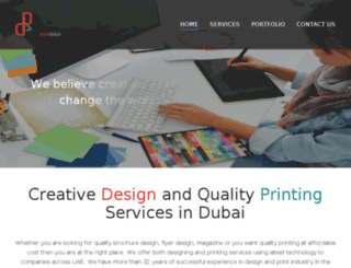 designprintdubai.ae screenshot