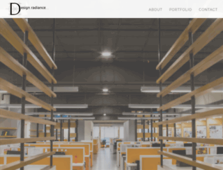 designradiance.in screenshot