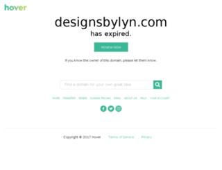 designsbylyn.com screenshot