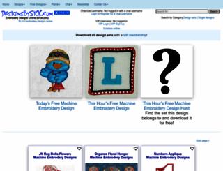 designsbysick.com screenshot