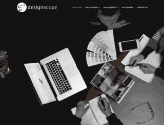 designscope.com.au screenshot