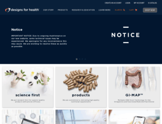 designsforhealth.ca screenshot