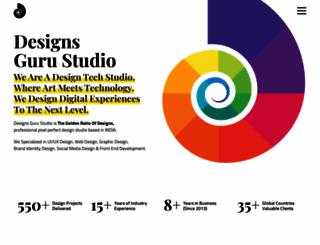 designsgurustudio.com screenshot