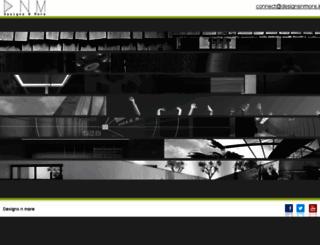 designsnmore.in screenshot