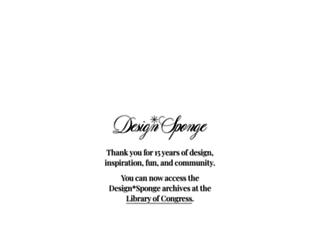 designsponge.com screenshot