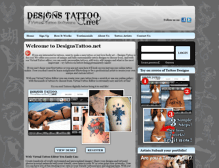 designstattoo.net screenshot