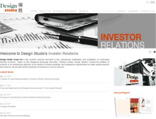 designstudio.listedcompany.com screenshot