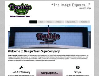 designteam.com screenshot