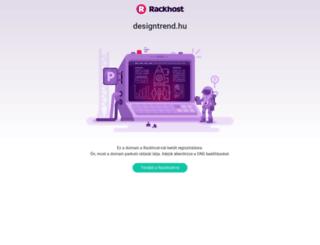 designtrend.hu screenshot