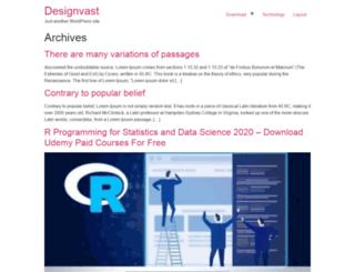 designvast.com screenshot