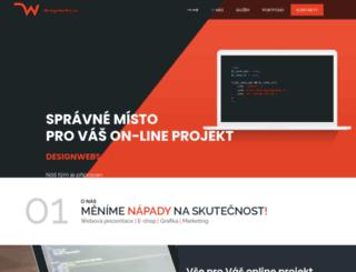designwebs.cz screenshot