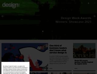 designweek.co.uk screenshot