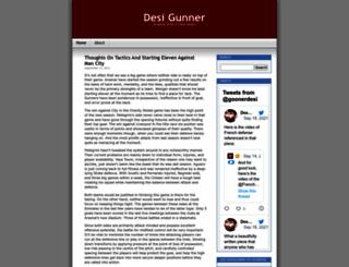 desigunner.wordpress.com screenshot