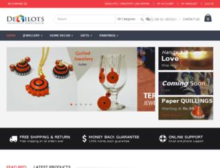desilots.com screenshot