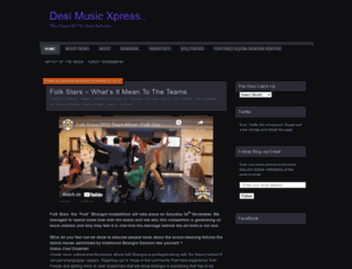 desimusicxpress.wordpress.com screenshot